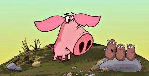Поросёнок - Прикольные мультики: Картошка и Морская свинка