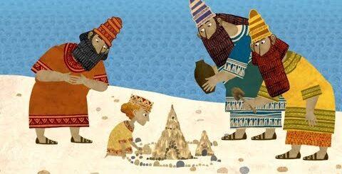 Сказки - Мультики для детей   Гора самоцветов - Две недлинных сказки. Еврейская сказка