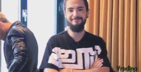 Tokio Hotel  -  в гостях у бабушки (юмор)
