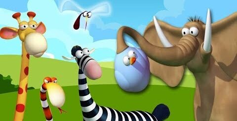 Газун | звериные приключения | Смешные мультфильмы для детей