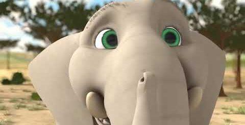 Очень смешной мультик слон играет ( для детей ) очень интересно 2019 HD