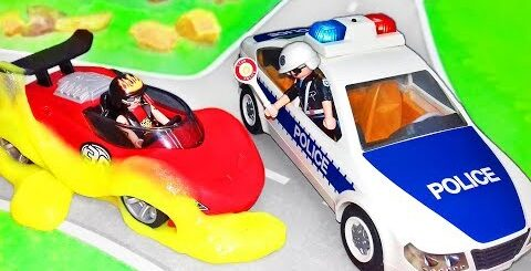 Мультики про машинки. Видео для детей с игрушками – Новые Полицейские