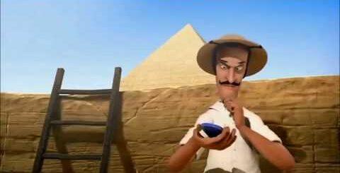 Очень смешной мультфильм про древний египет.