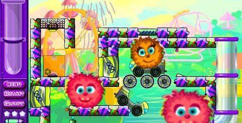 Пылесос и Лохматые ШАРИКИ Мультик Игра - Funny Cartoon Game Vacuum Cleaner And Shaggy Balls