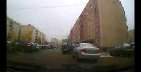 ДТП в городе Ноябрьске ЯНАО) ДТП! Авария! Видеорегистратор