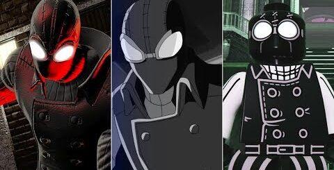 Эволюция Человека-Паука Нуар в мультфильмах и играх