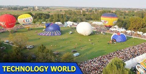 Air Balloon Festival In Europe   The Enigma Machine World War 2   Technology World   Ep 25