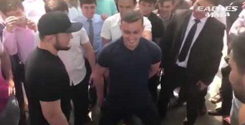 Приколы с Хабибом Нурмагомедовым, лучшие моменты