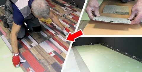 Экономный вариант отделки пола и стен. Обзор и монтаж пола из строительных плит