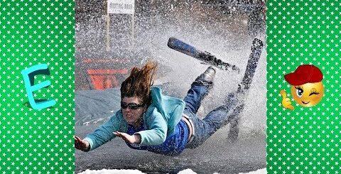[ Не повторять ] Лучшие приколы лыжников и сноубордистов !!!!!!!!!!!!!!!