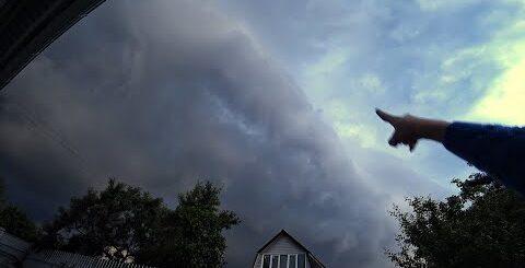 ВЛОГ Ураган в Москве | Последствия грозы | Приколы в бассейне 30.06.2017