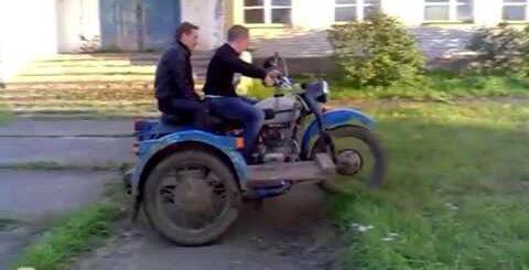 деревнские приколы на мотоциклах  2017  ржач