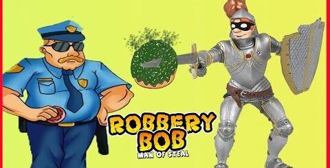 ВОРИШКА БОБ 1 41 Новая серия ПРИКОЛЫ ВСЕ ИЩУТ УНИТАЗ БОБ КАК РЫЦАРЬ Игровой мультик по игре Robbery