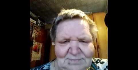 Пьяная смешная бабка. Приколы 2016