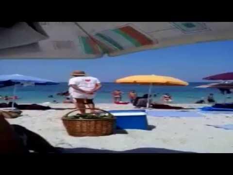 #Приколы на пляже видео Море ИТАЛИЯ #Sardegna spiaggia #Прикольный продавец