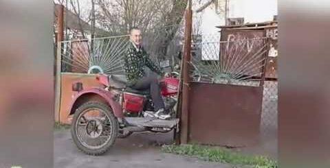 Лучший мотоцикл с коляской приколы и неудачи || MonthlyFails
