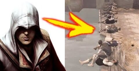 "Assassin's Creed 2 ""Баги, Приколы, Фейлы"" (Project KO)"