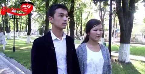 Кыргызча прикол. Кызын башка бала менен тутуп алган жигит.
