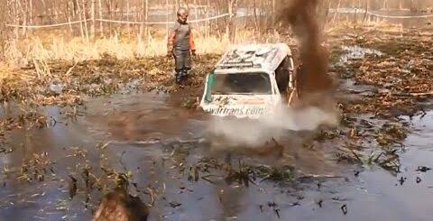 OFF-ROAD приколы:))) Часть 3 / Adventures in the mud