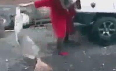 Суровая уборщица