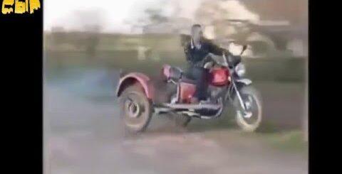Придурки на мотоциклах!!Приколы!!))Смотреть всем))