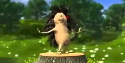 Танцующий ёжик  Позитивный мультик  Смешной короткий мульт,Приколы 2015,Ржач 2016