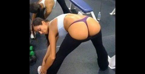 Супер приколы в спортзале